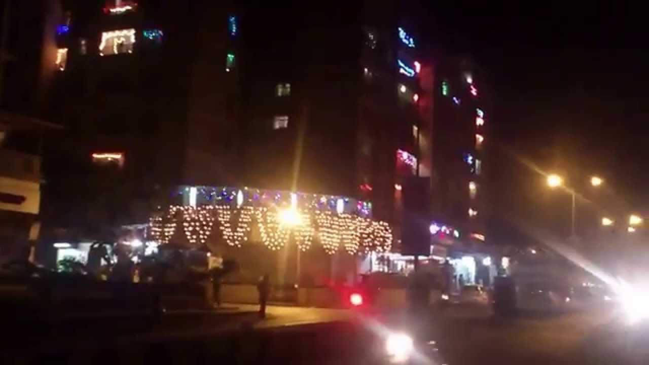Lightings Decoration On Building Of Mumbai During Diwali Festival