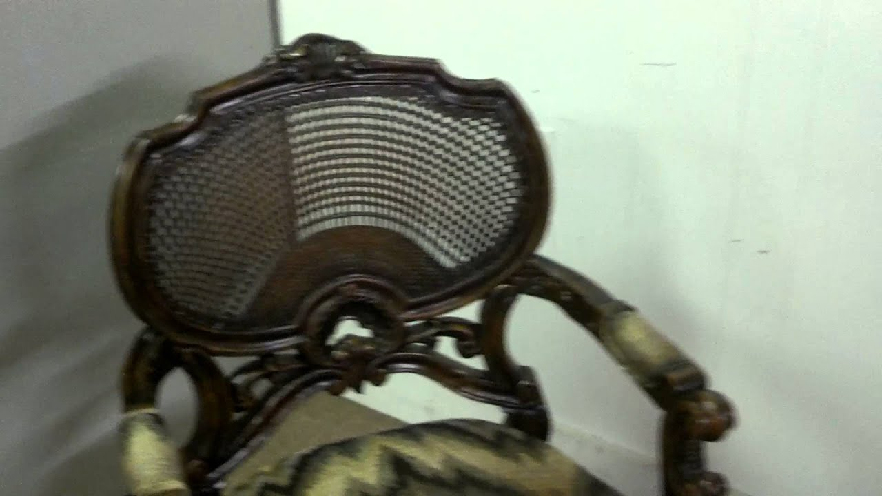 John Richards Ikat Armchair - YouTube