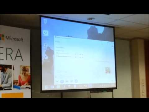 Clip Event : Work anywhere with windows8