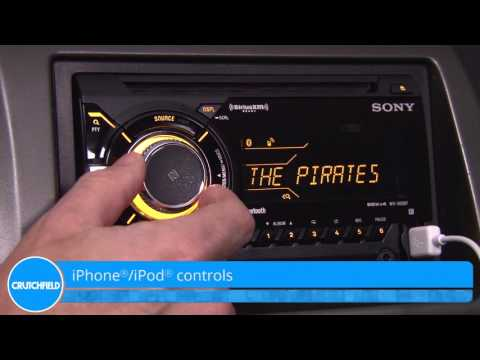 Sony WX-900BT Display And Controls Demo | Crutchfield Video