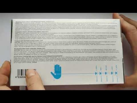 Перчатки медицинские смотровые латексные SFM
