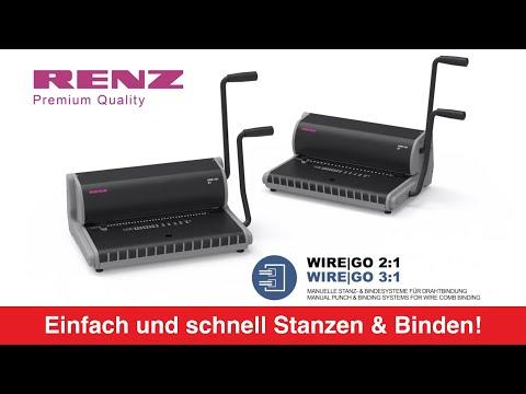 Video: Renz Drahtbindegerät WireGo