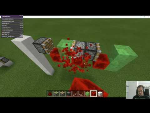 Exploring Redstone in Windows 10 Beta Edition Minecraft