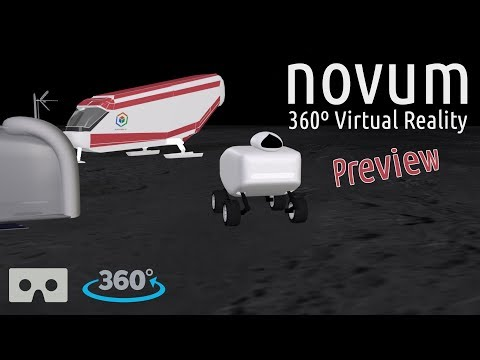 novum | A New Space Experience (360º Virtual Reality Animation Preview)