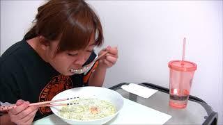 【チーズ入り】クリームジェノベーゼうどん【温玉濃厚】