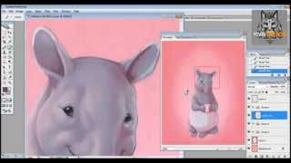 Digital Drawing: Tapir