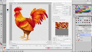 Adobe PhotoShop CC 2015: instrucciones detalladas sobre cómo crear una animación (Crear Fotograma de la Animación)
