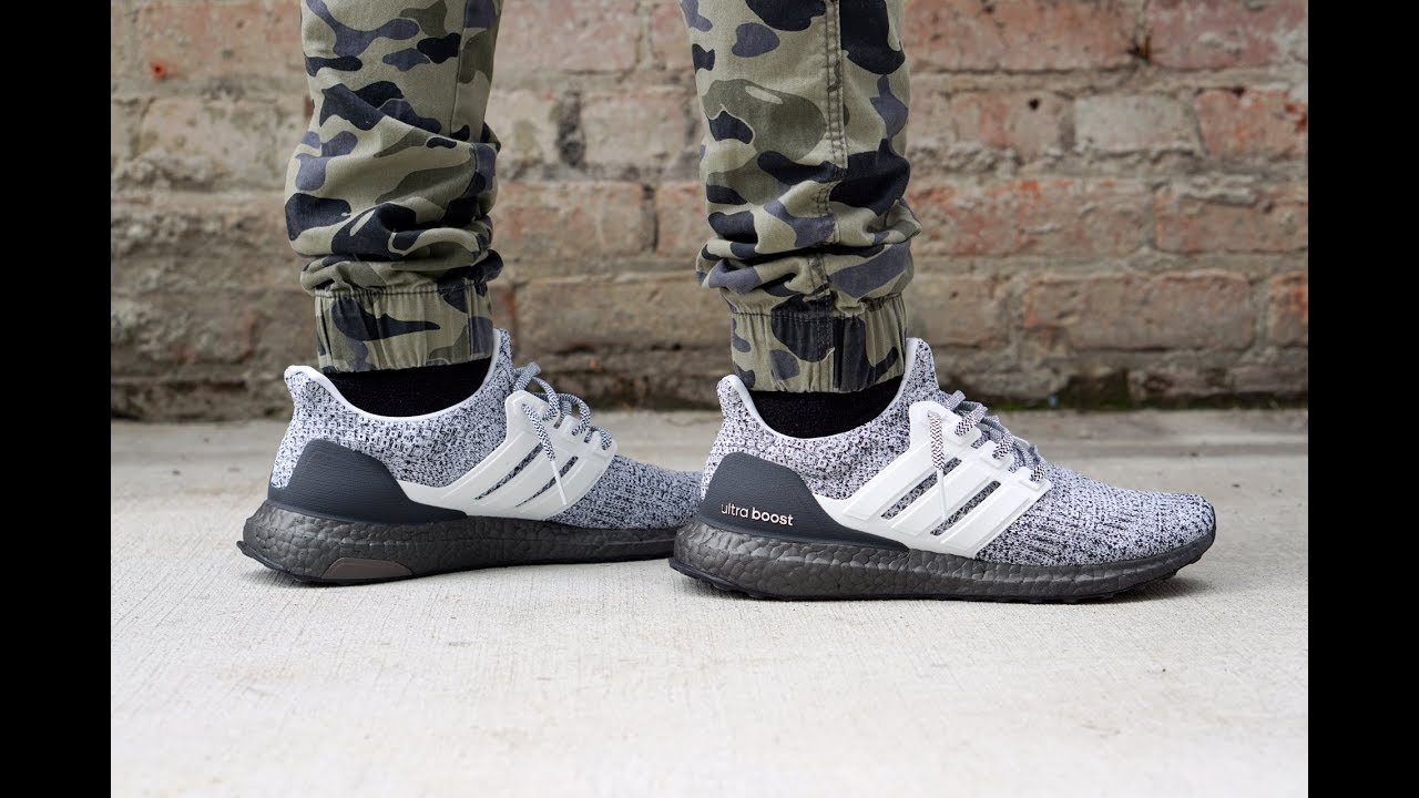 On Feet  Adidas UltraBoost 4.0 (Cookies  n Cream) BB6168 - YouTube b27c70bb0