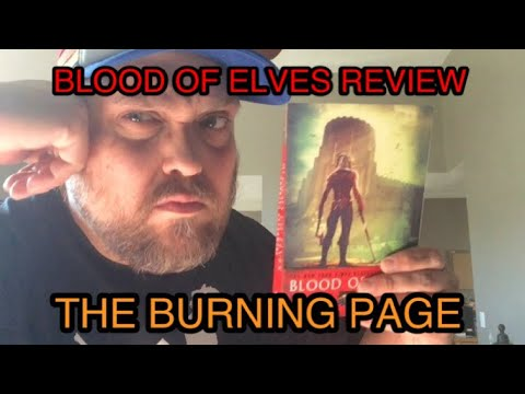 The Burning Page – The Witcher Blood Of Elves Review