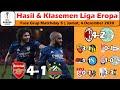 Hasil Liga Eropa Tadi malam ~ Hasil Arsenal vs Rapid Wien UEL Matchday 5 2020