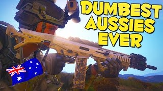 DUMBEST AUSSIES EVER - Arma 3 Altis Life Funny Moments