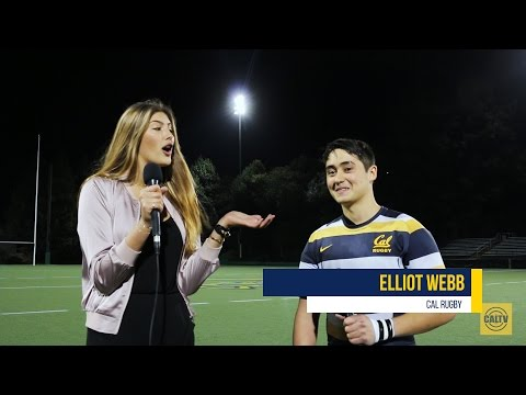 CalTV Sports: Interview with Elliot Webb