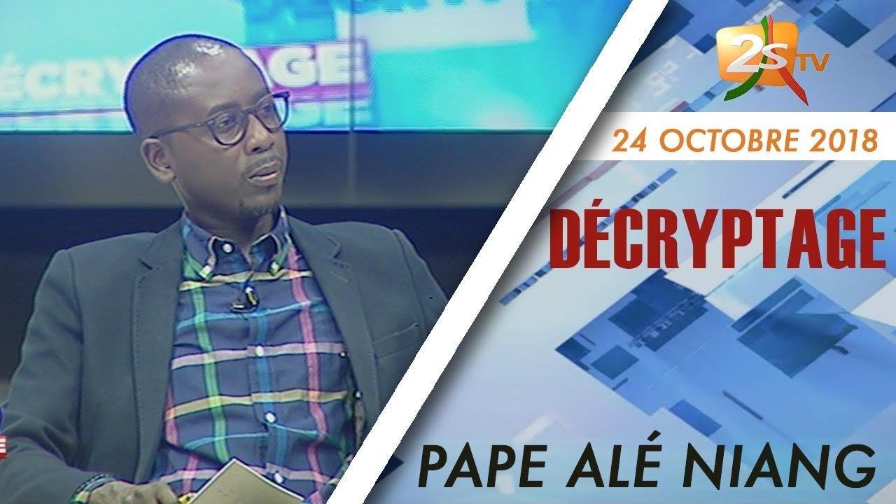chronique pape ale niang du 24 octobre 2018