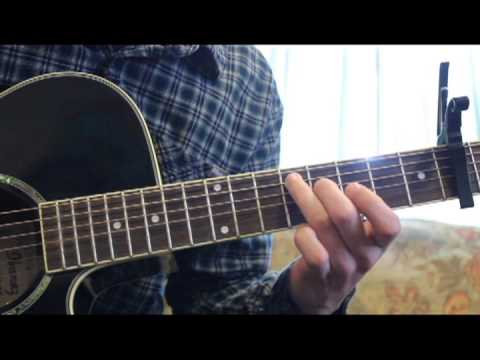 City and Colour- Day Old Hate Guitar Tutorial