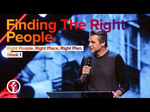 Right People, Right Place, Right Plan - Week 1 | Jentezen Fr