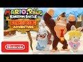Mario + Rabbids Kingdom Battle: Donkey Kong Adventure DLC Gameplay Trailer - Nintendo Switch