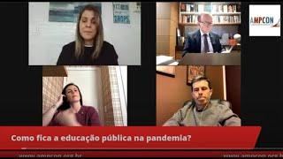 Série Ampcon Analisa - Como fica a educação pública na pandemia?