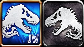 JURASSIC WORLD THE GAME vs JURASSIC PARK BUILDER