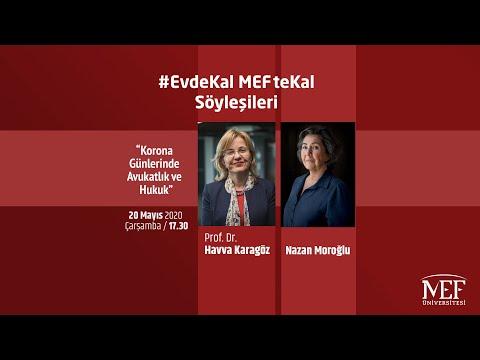 """EvdeKal MEFteKal Söyleşileri - 16 """"Korona Günlerinde Avukatlık ve Hukuk"""""""