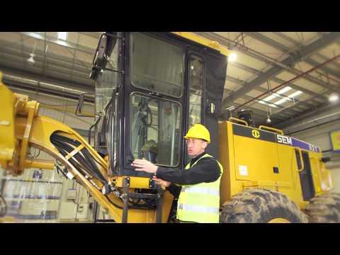 Видео обзор модельного ряда автогрейдеров SEM