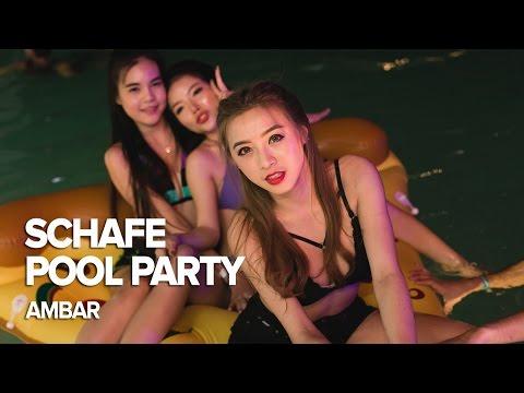 Schafe Pool Party at amBar Bangkok