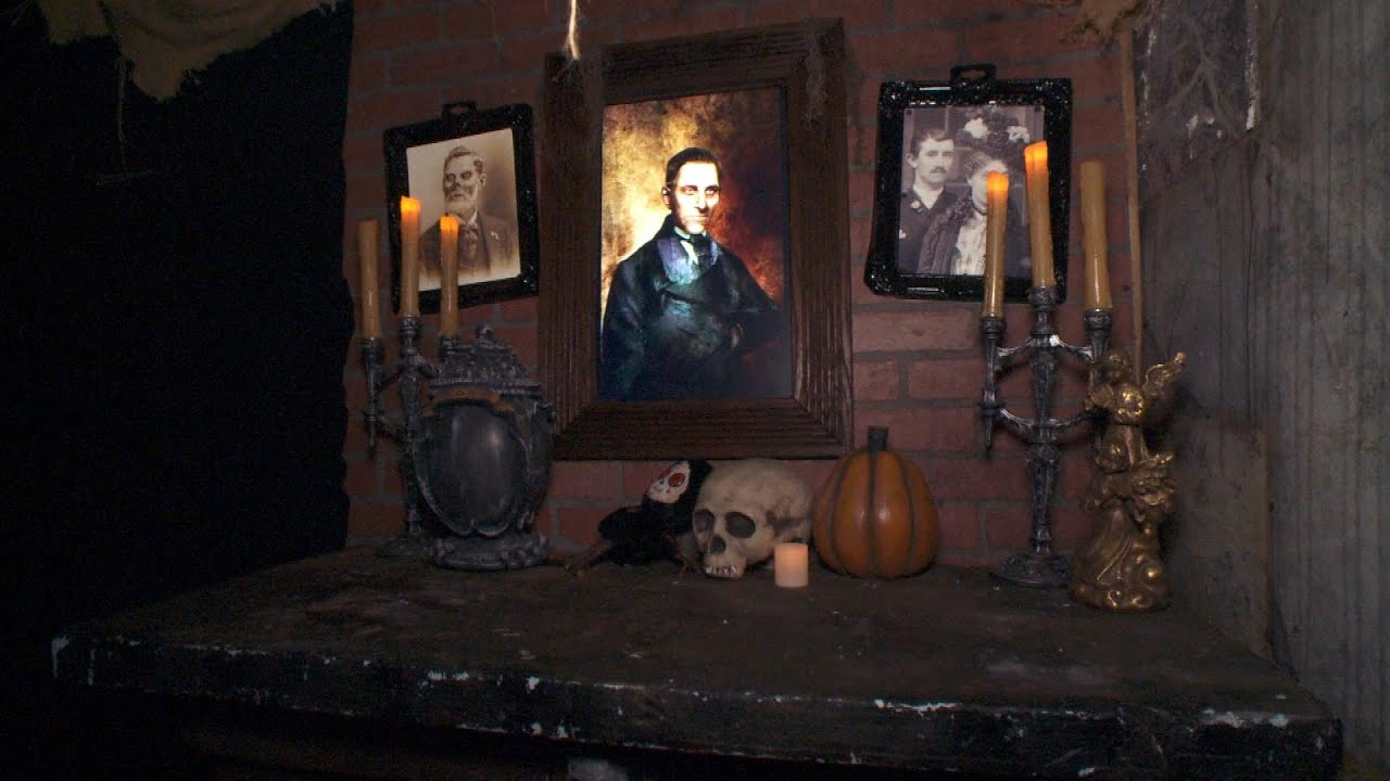 Creepy Diy Halloween Decorations From The Creators Of 3 Over The Top Haunted Houses Youtube