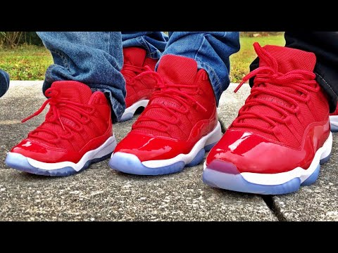 4887741d46aa Retail Release Air Jordan Retro 11 Win Like 96 On Feet - YouTube
