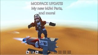 NEW MJM Parts (and More) Available In Modpack Update!