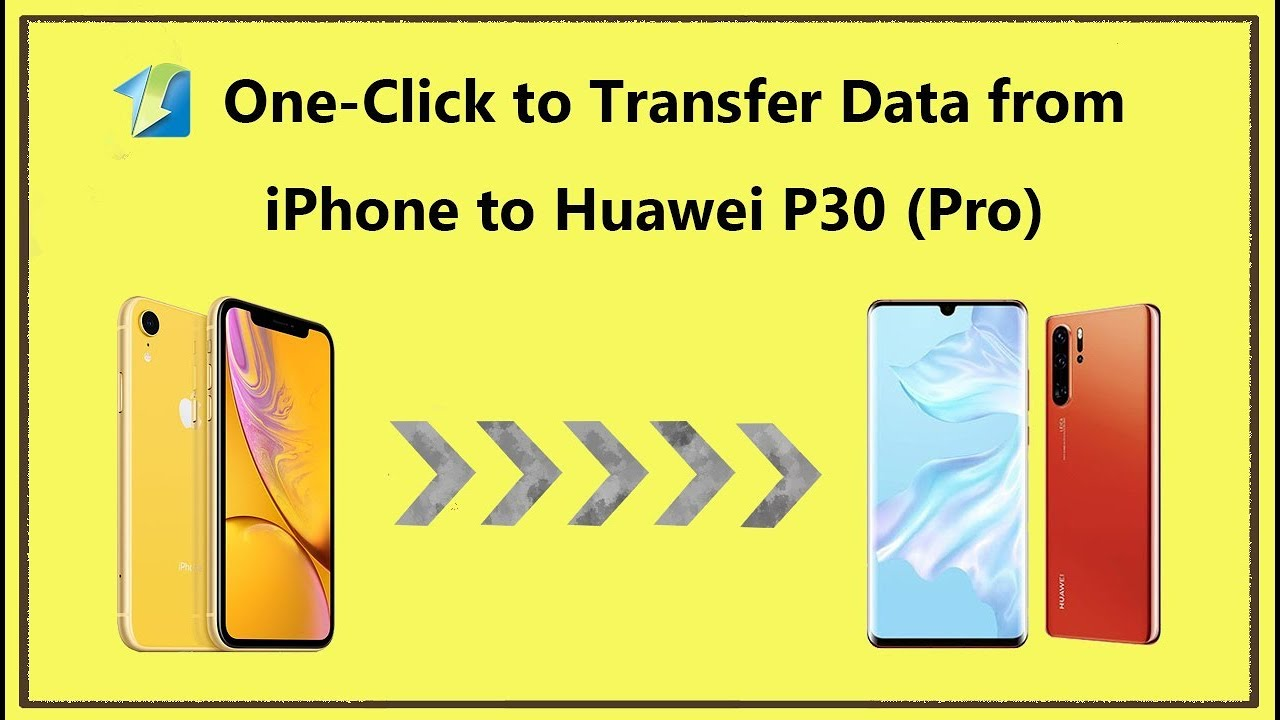 4 Ways to Transfer Data from iPhone to Huawei P30 - Syncios