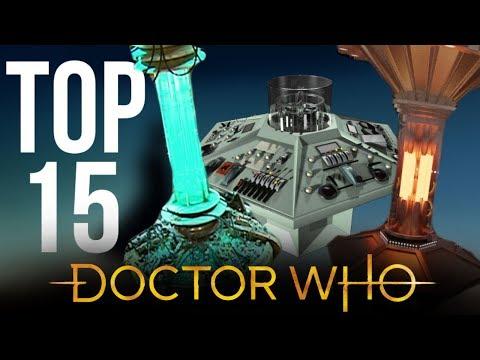 TOP 15 INTERIOR TARDIS DESIGNS   Doctor Who Console Rooms
