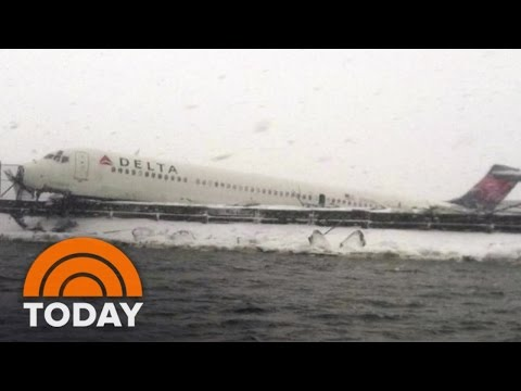 First-Hand: Delta's LaGuardia Plane Crash | TODAY
