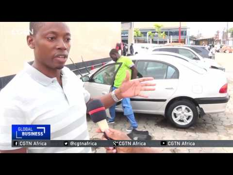 Water efficient, portable car wash services in Cameroon