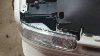 2003 Chevy Suburban Headlight Removal for Bulb Replacement