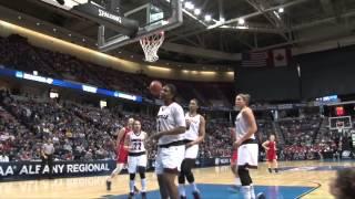 Ally Malott & Andrea Hoover WNBA Draft