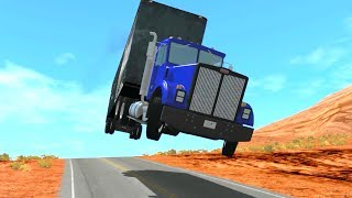 BeamNG Drive Crashes - Insane Crashes With Trucks #11