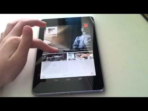 Nexus 7- Google currents & flipboard