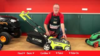 How To Choose A Lawn Mower - DIY At Bunnings