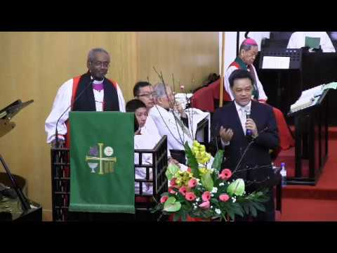 Presiding Bishop preaches during the Diocese of Taiwan's synod closing