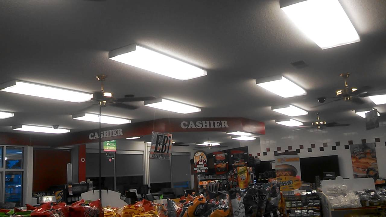 Craftmade And Heritage Ceiling Fans In A Convenience Store
