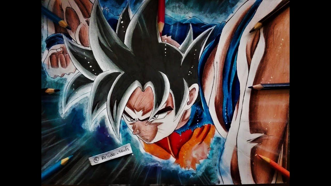 Dibujar A Goku Migatte No Gokui