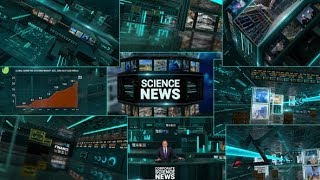 Corporate Economics Science News Broadcast Full Package | After Effects