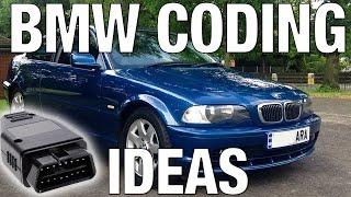 bmw e46 coding ideas not a tutorial just ideas