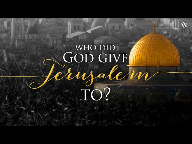 Amir Tsarfati: Who Did God Give Jerusalem to?