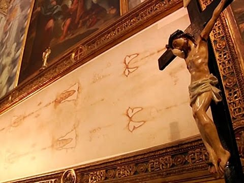 Shroud of Turin Goes on Display in Italy - YouTube
