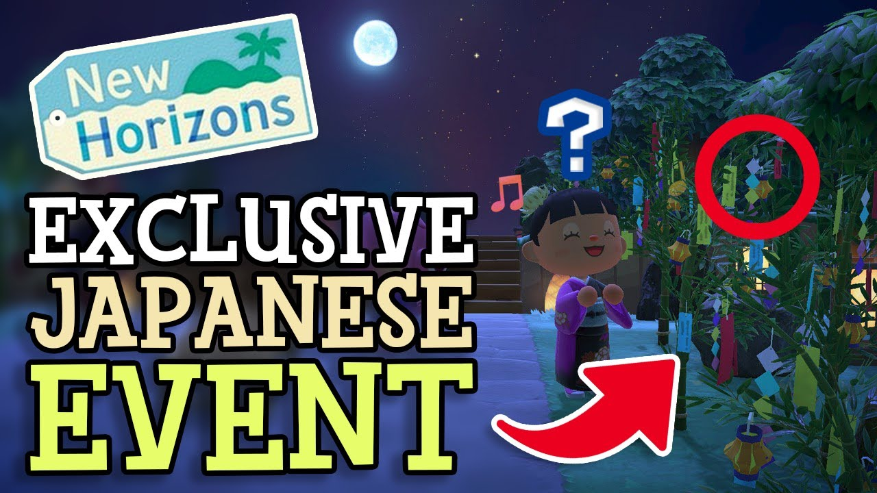 Animal Crossing New Horizons EXCLUSIVE JAPANESE EVENT REVEALED (Starcrossed Day) More Update Details