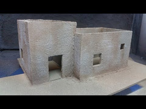 Stucco Texture Tutorial for MDF buildings