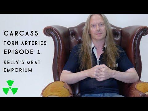 CARCASS - TORN ARTERIES Episode 1: Kelly's Meat Emporium (OFFICIAL TRAILER)