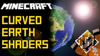 Minecraft 1.9 Shaders - A Curved World!