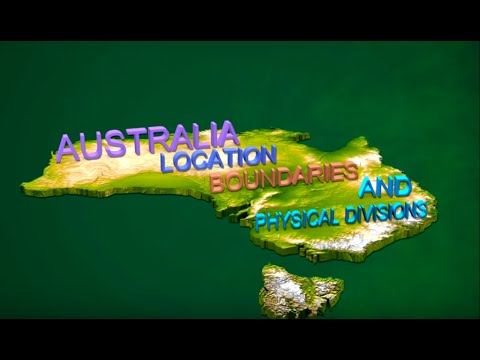 Australia - Location | Boundaries | Physical Divisions - Iken Edu