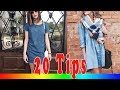 20 Style Tips On How To Wear A Denim Dress